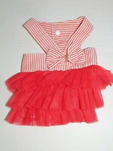 Dresses Small Girl Dog Little Puppy XS XXS and Small Romper Tutu Summer Outfits