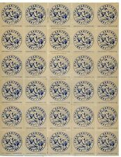 "1947 Utah Centennial ""VISION"" Poster Stamps in FULL SHEET of 30"