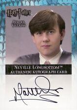 Harry Potter Heroes & Villains Matthew Lewis as Neville SDCC Exclusive Auto Card