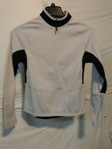Sportful Women's Long Sleeve Midweight Cycling Jersey Medium White/Black