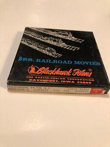 8mm Railroad Movies Blackhawk RAILROADING IN THE NE Vintage In Box Like New