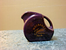 FIESTA Dillards Mini Disk Pitcher Mulberry Introduced 2018 50th Color NWT!!!