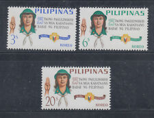 Philippines 1966 Girl Scouts. Sc 947-949.  Mint Never Hinged