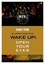 "BTS (Bangtan Boys) [1st Japan Tour 2015 ""Wake Up: Open Your Eyes""] Concert DVD"