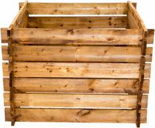 Nativ Komposter aus Holz, Gartenkomposter imprägniert Holzkomposter Stecksystem