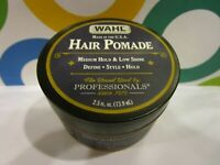 WAHL HOME PRODUCTS ~ HAIR POMADE MEDIUM HOLD & LOW SHINE ~ 2.5 OZ UNBOXED