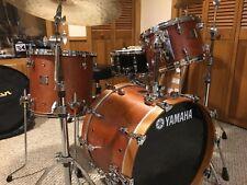Yamaha Birch Custom Absolute Drum Set 20/12/14 - Vintage Natural Made  in Japan