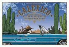CALEXICO MELBOURNE 2007 ORIGINAL CONCERT POSTER