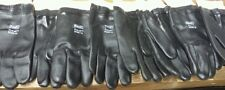 L@k! Best Glove duz-all 603R Latex Coated Gloves sz 10 (lot of 2 pair) New