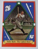1992 Delphi Babe Ruth The Called Shot Baseball Card