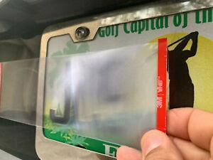 (HOT) Red Light /Toll /Speeding Camera License Plate lens Blocker. AS Seen on TV