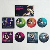 ZUMBA EXHILARATE Body Shaping 5 DVD Pack + Warranty + Authentic