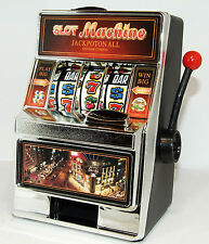 New Mini Casino Jackpot Fruit Slot Machine Moneybox Game Toy Saving Box Kids Toy