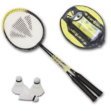 CARLTON 2er Badminton Set Badmintonset Badmintonschläger Federbälle inkl. Hülle