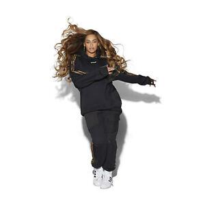 adidas Ivy Park M Medium Long Sleeve Hooded Sweatshirt Hoodie Black Unisex