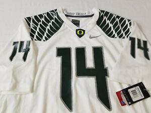 NEW Oregon DUCKS Nike 2014 FOOTBALL JERSEY Ifo Ekpre-Olomu  #14 Shirt   MEN'S  L