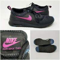 Nike Air Max Thea Black Athletic Running Tennis Shoes Sneaker Womens Size 9