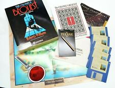 Amiga Colonel's Bequest Game Laura Bow Mystery Williams 5 Floppy Guide Commodore