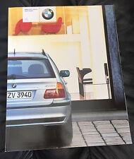 2002 BMW 3 Series Wagon 325i 325xi Prestige Dealer Sales Brochure Prospekt