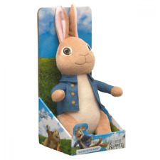 ~❤️~Talking Beatrix Potter PETER RABBIT Movie 2 soft toy 30cm BNIB ~❤️~