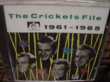 THE CRICKETS FILE 1961-1965 RARE OUT OF PRINT SEE FOR MILES LIMITED EDITION CD