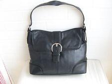 ESPRIT - Große Tasche - echt Leder - schwarz - neuwertig ! - ca 33 cm x 25 cm