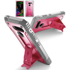 Anti-dust Case For LG G8 ThinQ,Dual-Layer Shockproof Protective Cover Pink