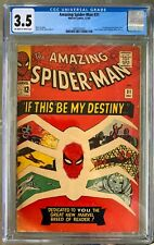 Amazing Spider-Man #31 (1965) CGC 3.5 -- O/w to white pages; Stan Lee & Ditko