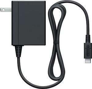 Genuine Original Nintendo Switch AC Adapter Power Charger USB Type C Used Good