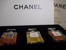 New *DELUXE* 8ml mini Set CHANEL WARDROBE COCO No 5 19 Parfum Perfume Vintage