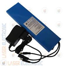 Batteria Ricaricabile a Ioni di Litio 24V (25.2V) 6AH 6000mA + Charger 1.0AH