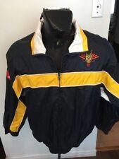 Mens Medium Nylon Zip Front Jacket Hong Kong China Dragon Boat Association