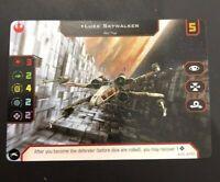 Star Wars X-Wing 2018 Luke Skywalker Promo Card From X-Wing Launch Event