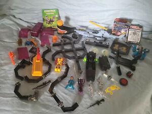 Vintage Transformer Construx Misc Toy Lot Build An Alien Patroller Mixed Lot 80s