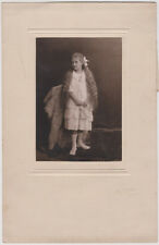 Original 1920s girl with very long hair, blindstamped by O.E. Hoppe