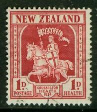 New Zealand. 1934. Health. 1d. FU.