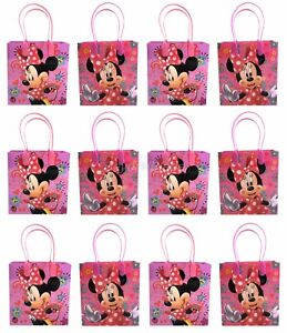 Disney Minnie Mouse Goody Bag Party Goodie Gift Birthday Candy Bags 24pc