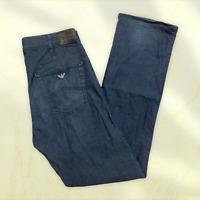 Mens AJ Giorgio Armani Indigo 008 Denim Blue Jeans - Size 32L (W32 L34) T24