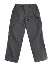 Men's Karrimor Black Hiking Walking Camping Pants Trousers Size Large