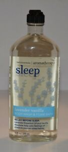 Bath & Body Works Aromatherapy SLEEP BODY WASH LAVENDER VANILLA 10FL