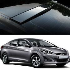 Uethane Roof Rear Visor Wing Spoiler Molding for Hyundai Elantra 2011-2016
