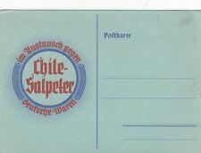 Chile-Salpeter Natriumnitrat AK uralt Werbung Reklame 1812073