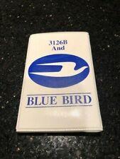 Blue Bird School Bus Vintage Note Pad with Pen - 3126B CAT