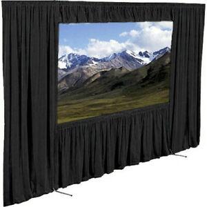 DRAPER Cinefold Screen (Rear Fabric) 6'x8' (10ft Diagonal) w/DRESS KIT & CASES