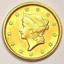1851 Liberty Dollar Gold Coin (G$1) - Excellent Condition - Rare Coin!