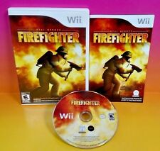 Real Heroes: Firefighter - Nintendo Wii & Wii U Game Rare COMPLETE Rare