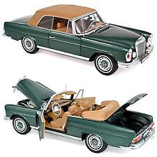 Mercedes Benz 280 SE 3,5 Cabriolet W111 1969-71 grün metallic 1:18 Norev 183434