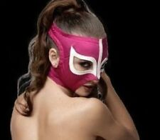 MRMASKMAN SEXY LADY PINK WOMEN Adult Mask Mexican Wrestling Mask Lucha Libre