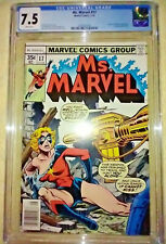 MS MARVEL #17 (1978) CGC 7.5 VF- WHITE PAGES - 2nd MYSTIQUE Cameo Appearance