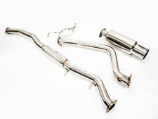 OBX Stainless Steel Catback Exhaust Fits 95 To 98 Nissan Skyline RB20E/RB25DE